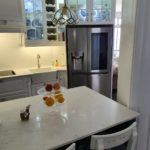 Fully customised upmarket kitchen.