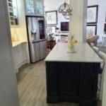 Fully customised upmarket kitchen.